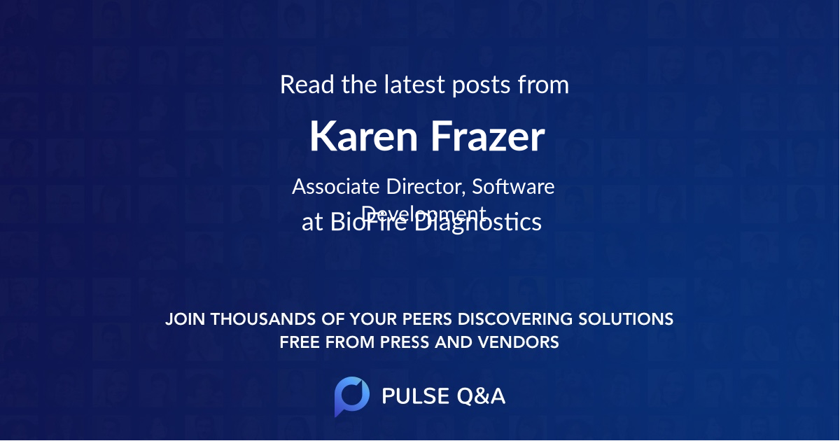 Karen Frazer