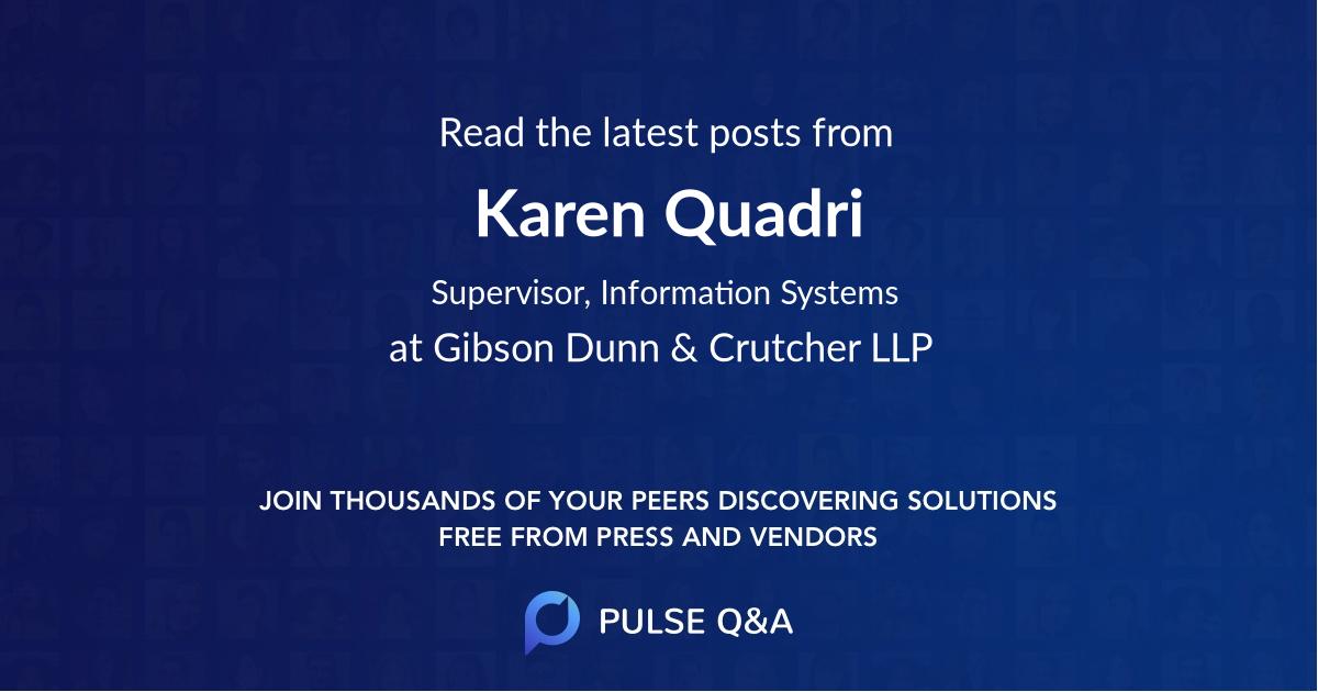 Karen Quadri