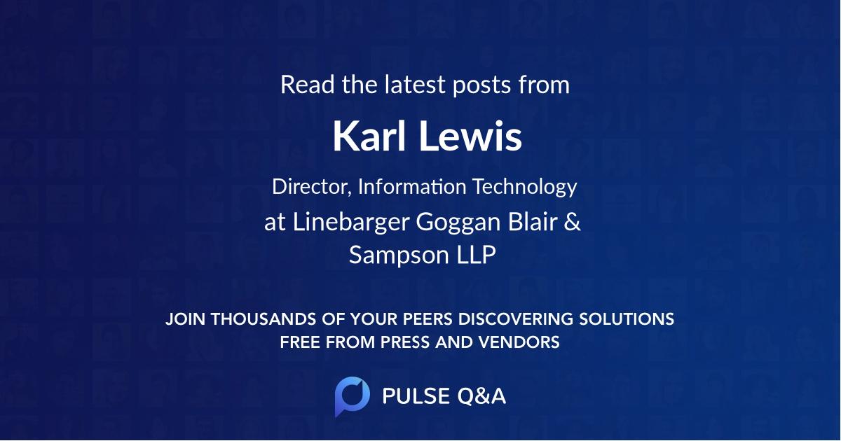 Karl Lewis
