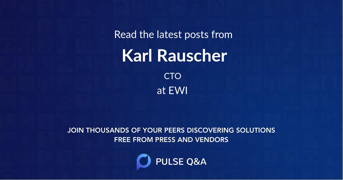 Karl Rauscher