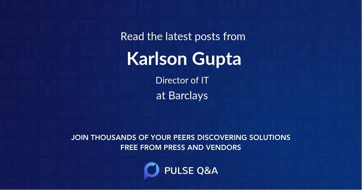 Karlson Gupta