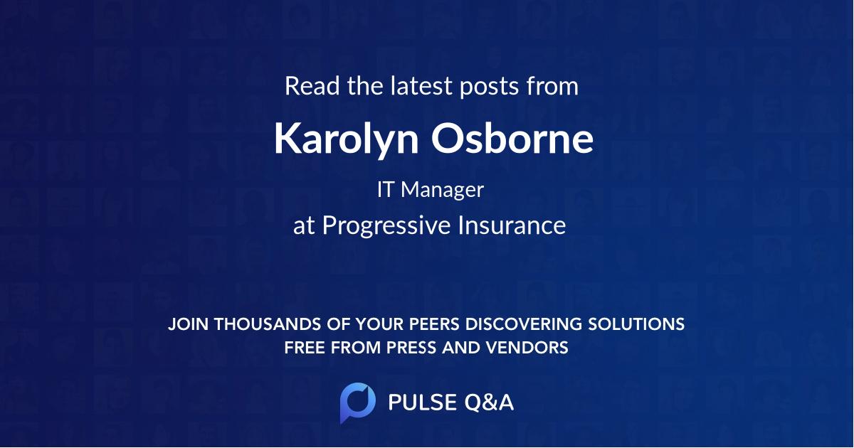 Karolyn Osborne