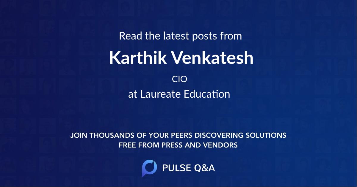 Karthik Venkatesh