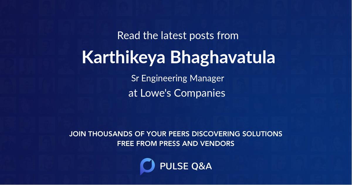 Karthikeya Bhaghavatula