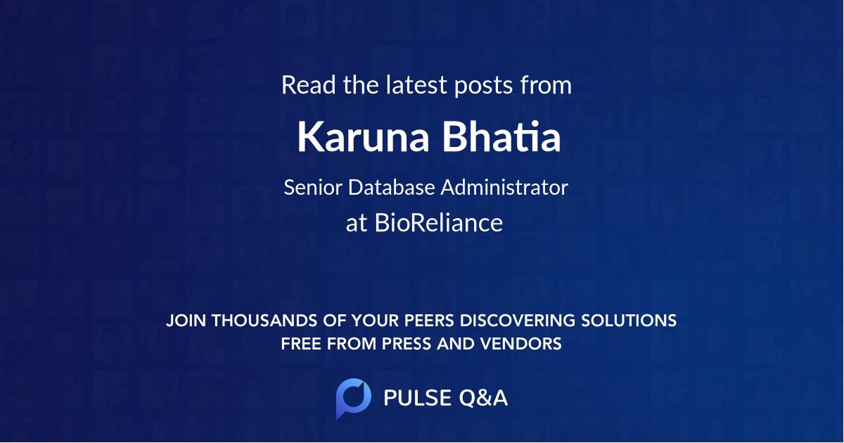 Karuna Bhatia