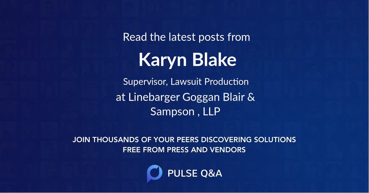 Karyn Blake