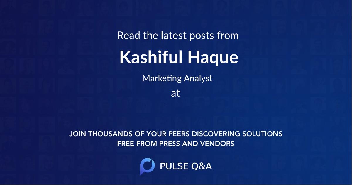 Kashiful Haque