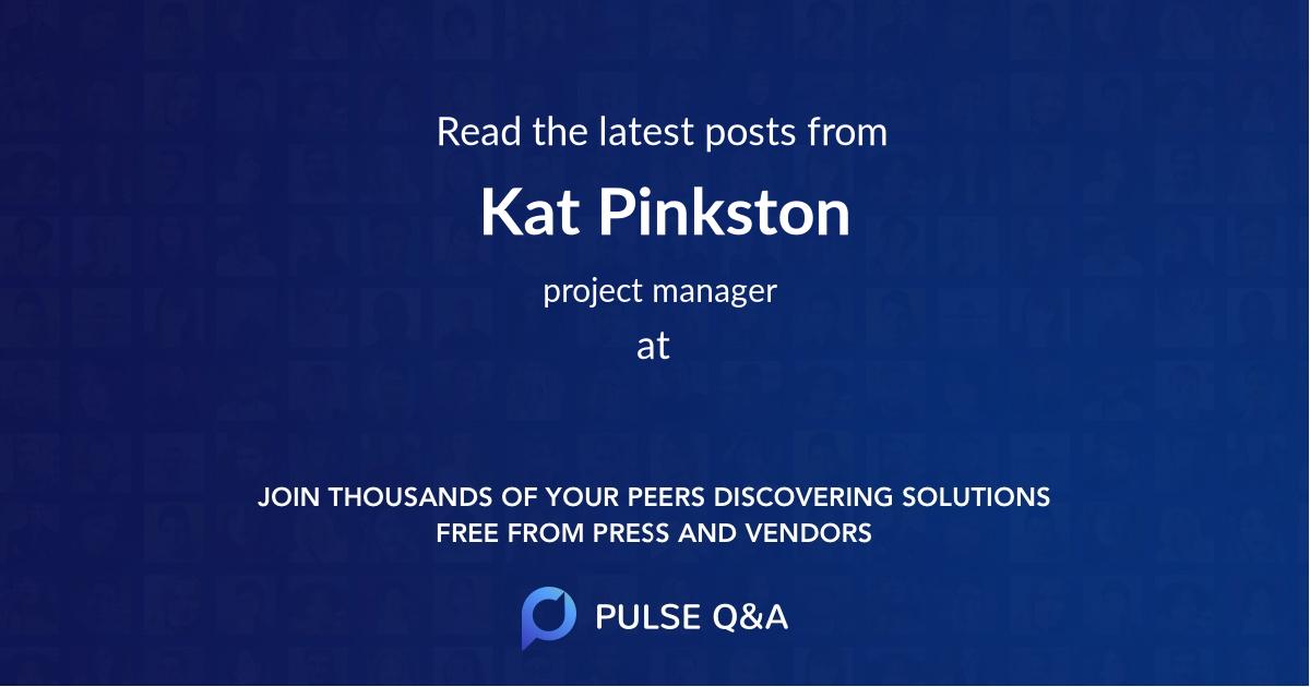 Kat Pinkston
