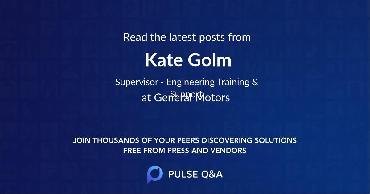 Kate Golm