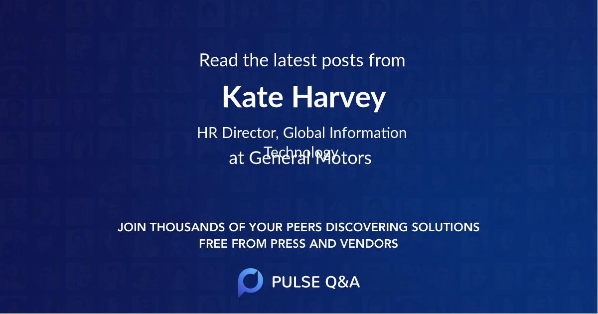 Kate Harvey