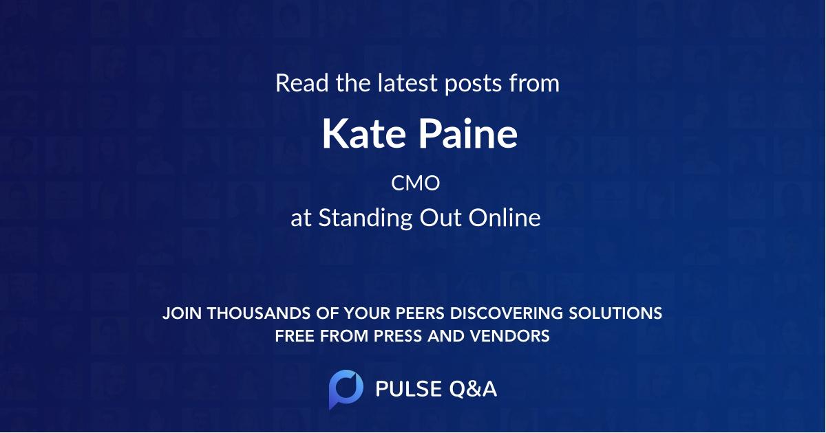 Kate Paine