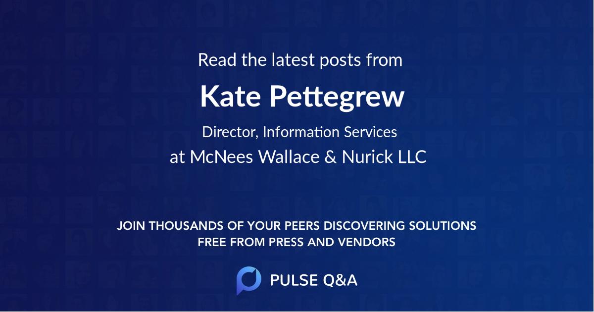 Kate Pettegrew