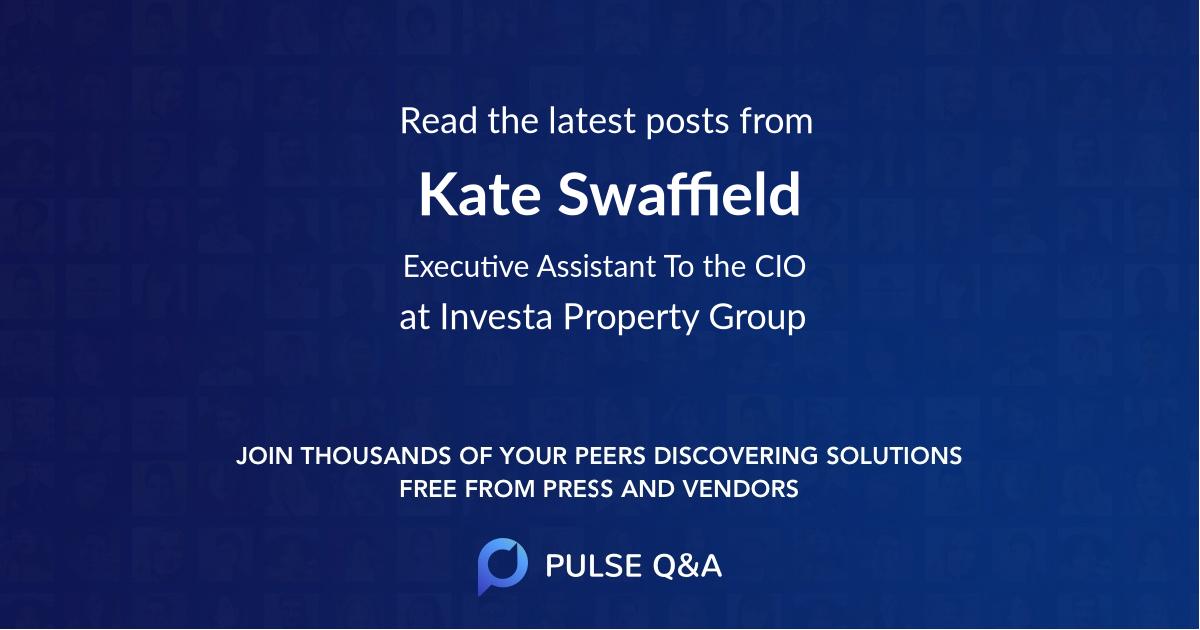 Kate Swaffield