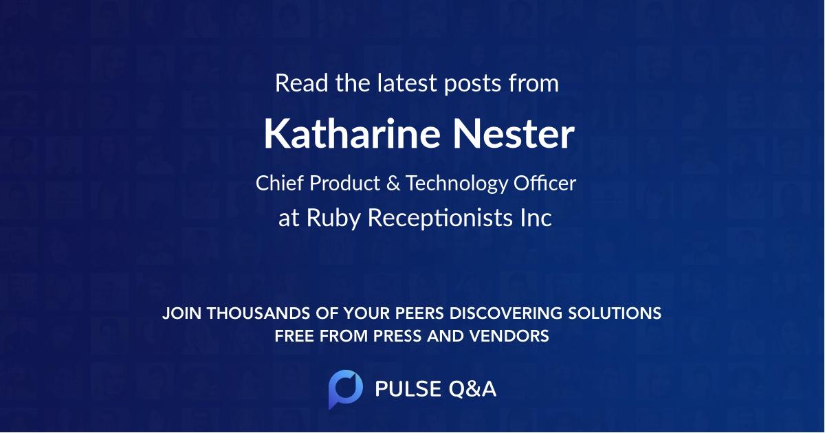 Katharine Nester