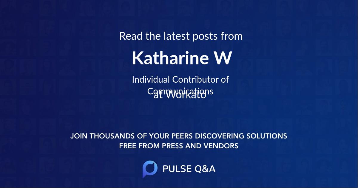 Katharine W
