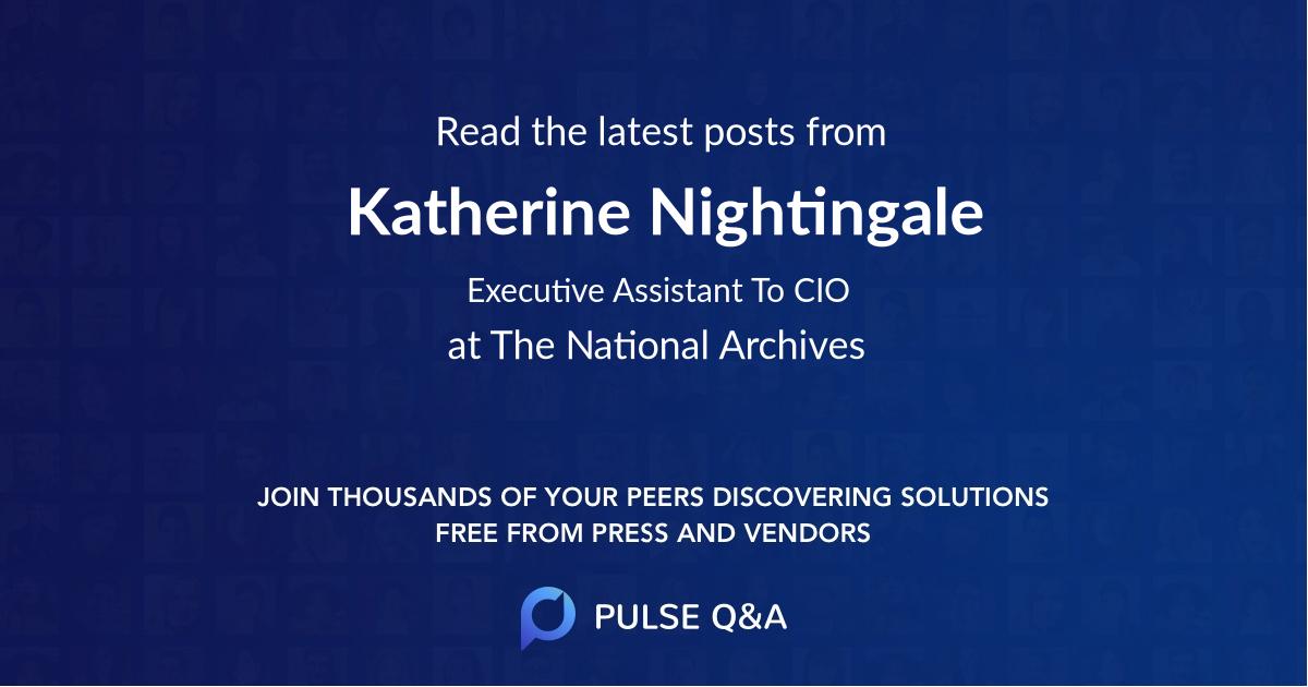 Katherine Nightingale
