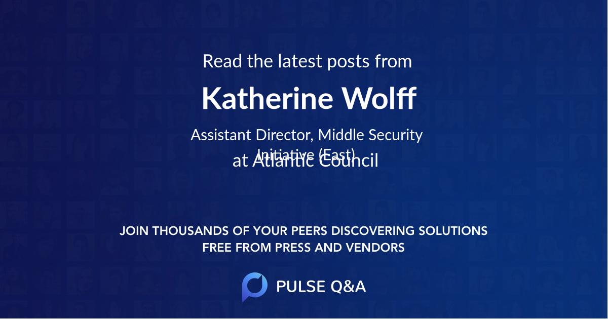 Katherine Wolff