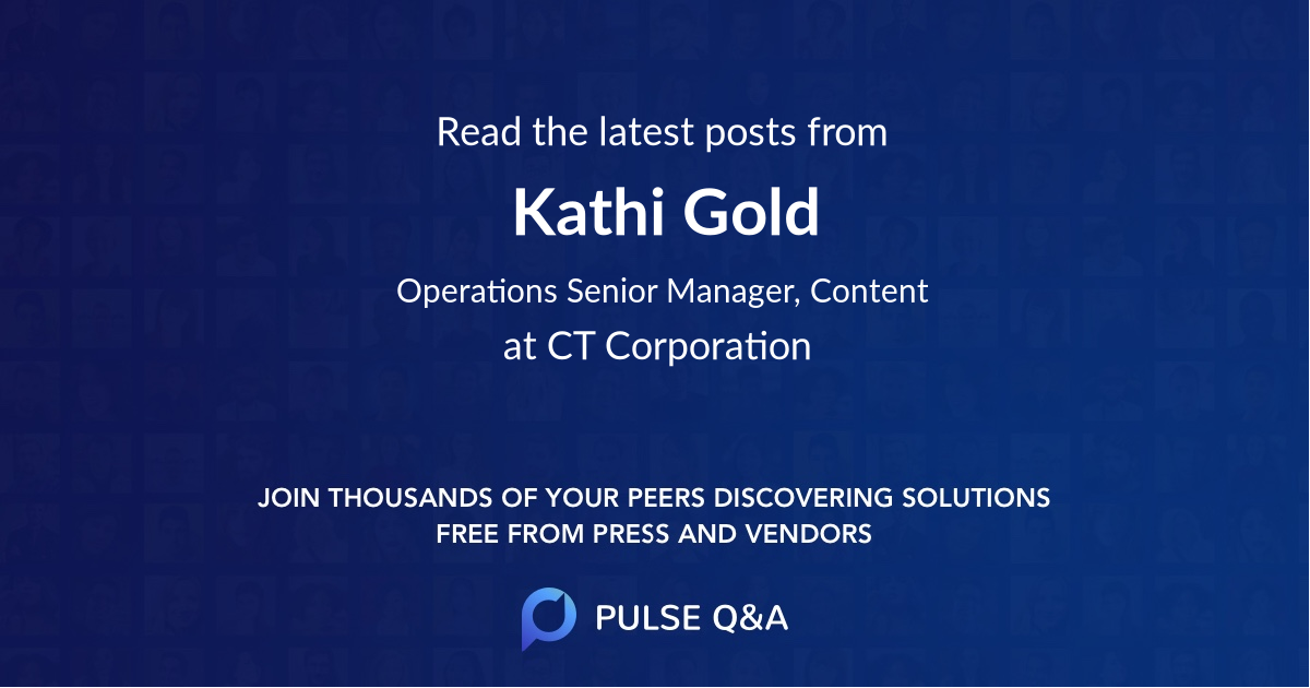 Kathi Gold