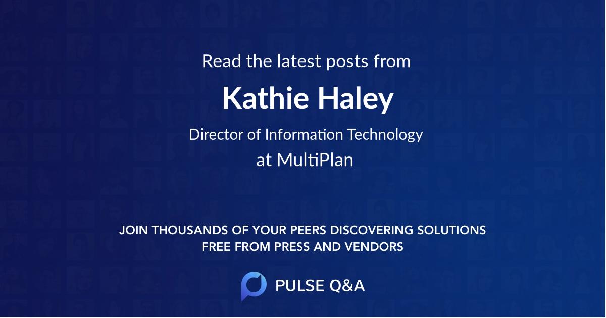 Kathie Haley