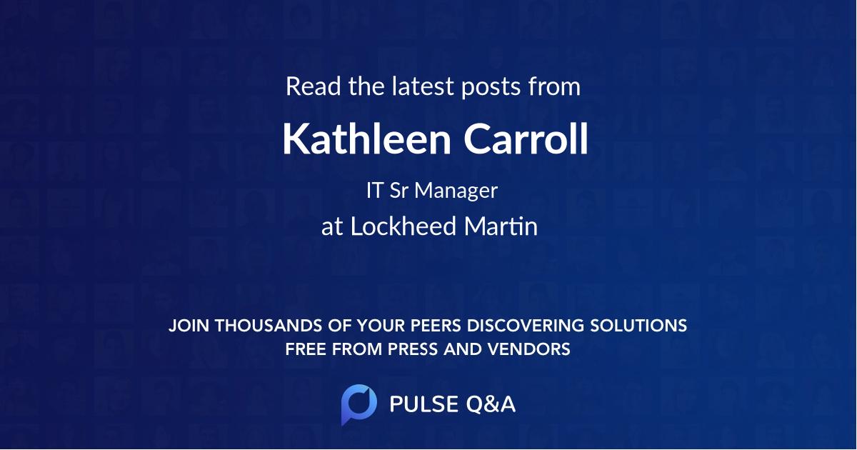 Kathleen Carroll