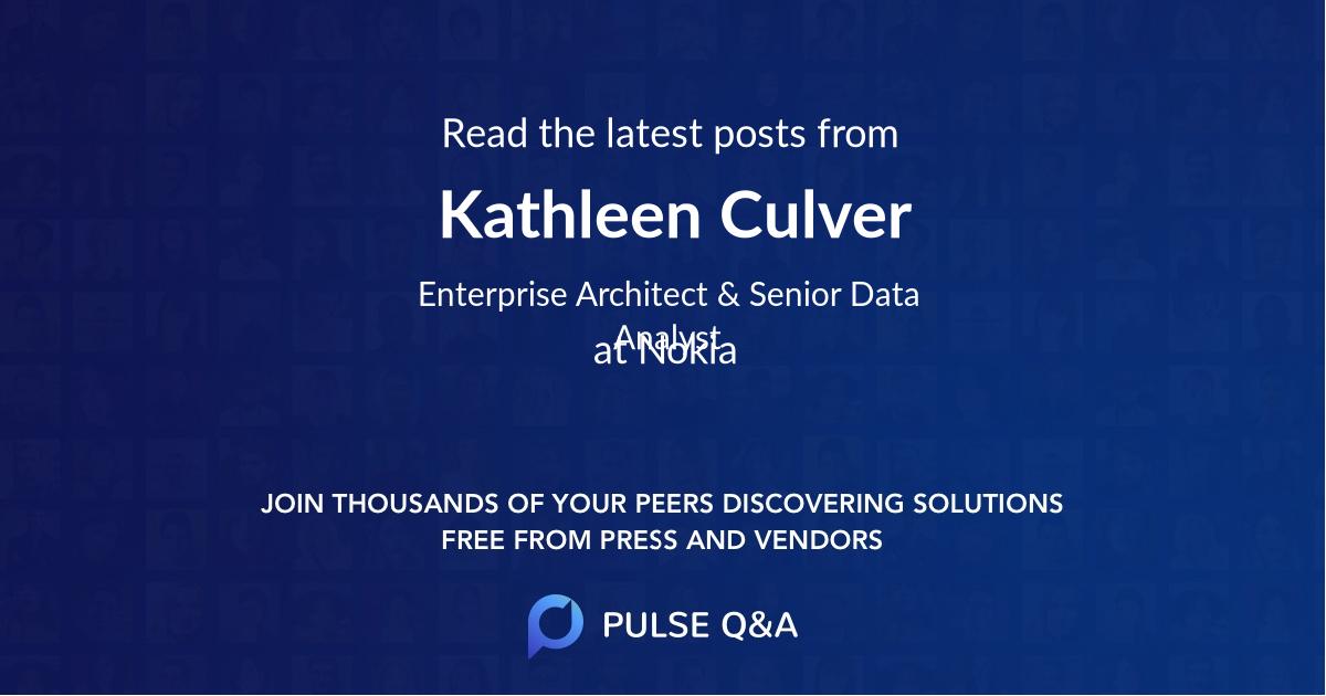 Kathleen Culver