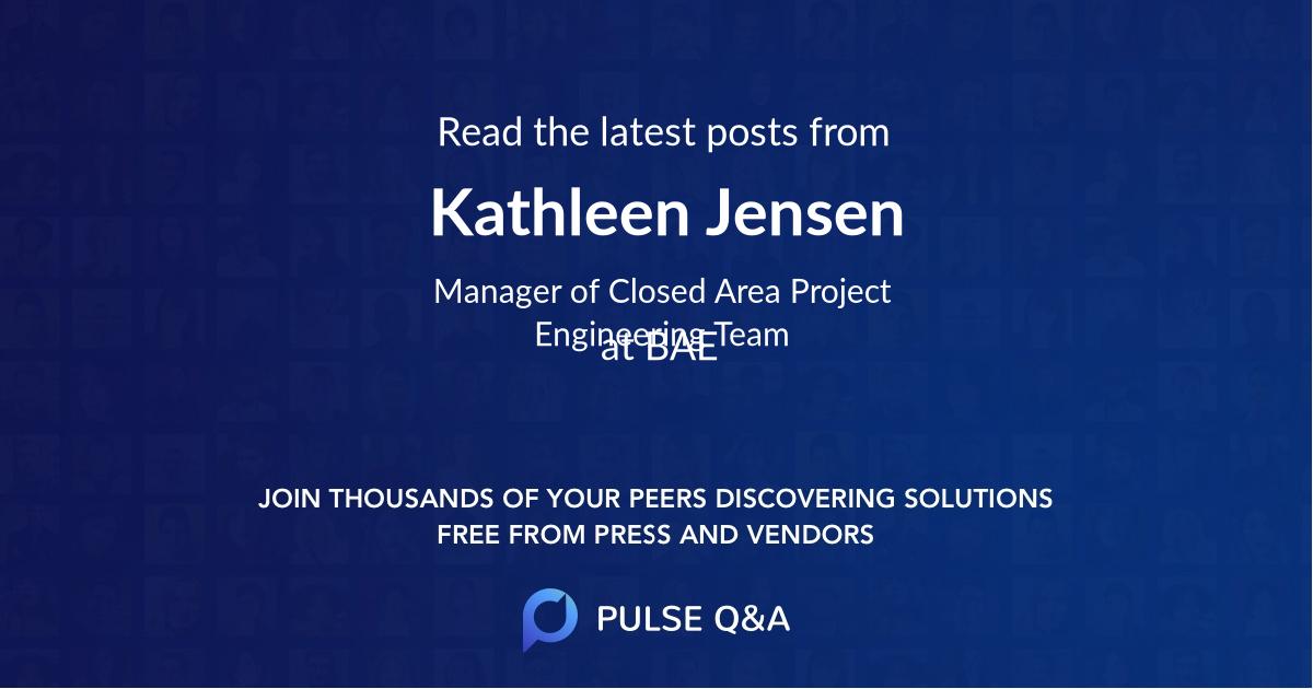 Kathleen Jensen