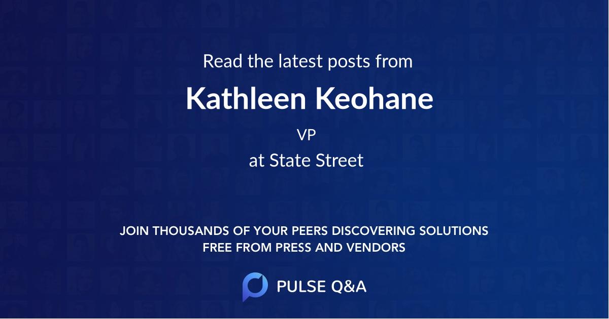 Kathleen Keohane