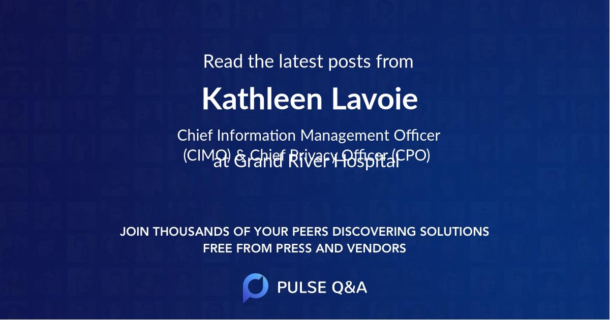 Kathleen Lavoie