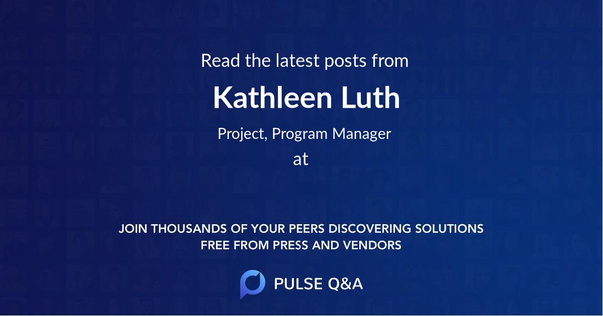 Kathleen Luth