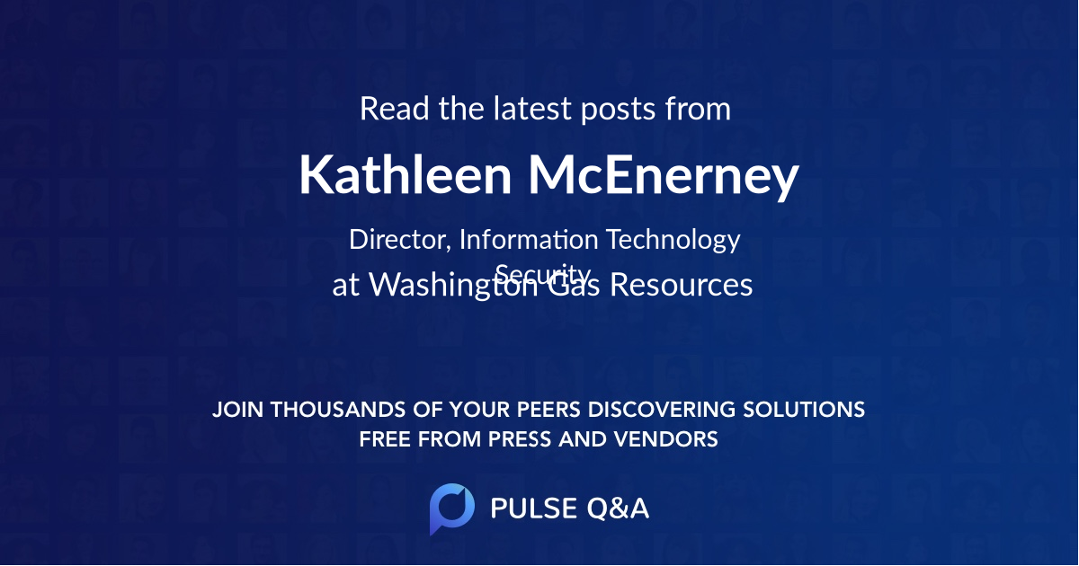 Kathleen McEnerney