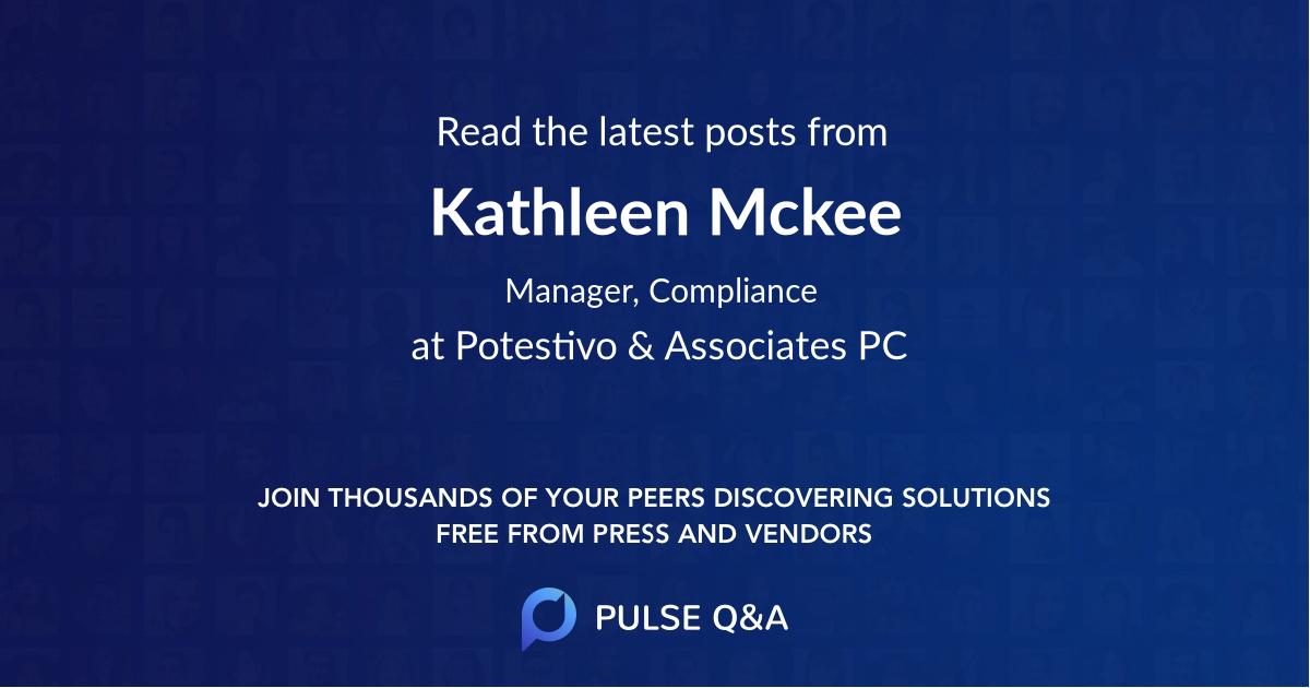 Kathleen Mckee
