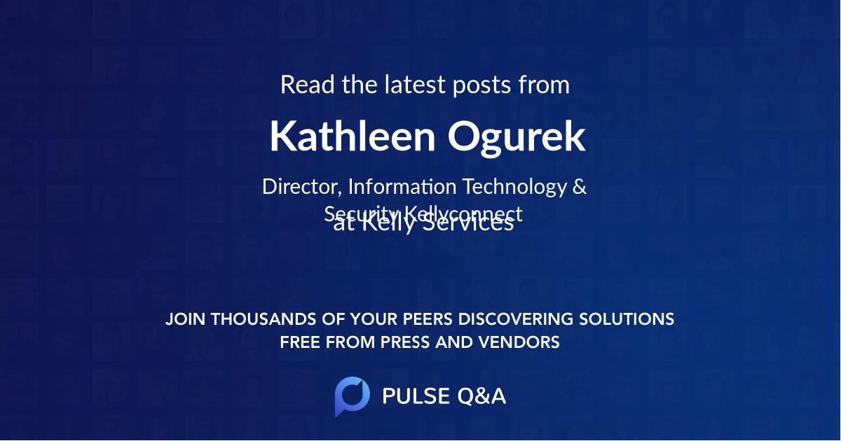 Kathleen Ogurek