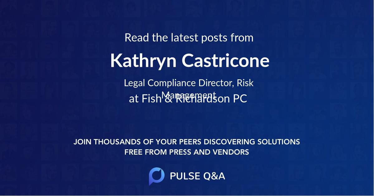 Kathryn Castricone