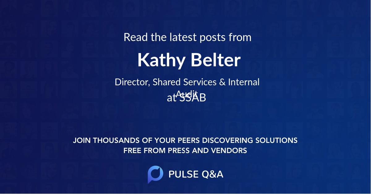 Kathy Belter