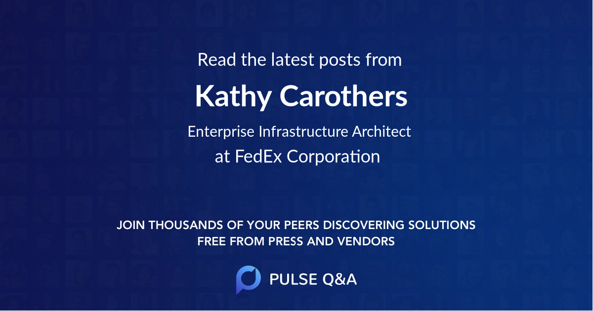Kathy Carothers