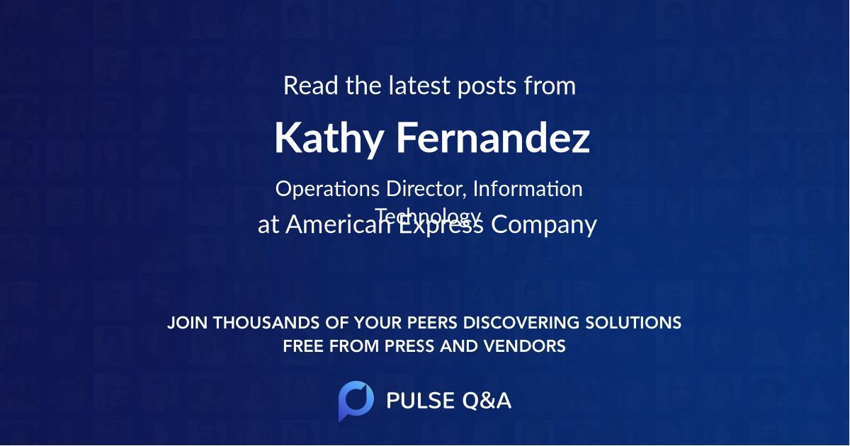 Kathy Fernandez