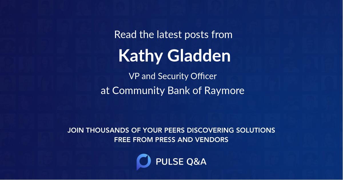 Kathy Gladden