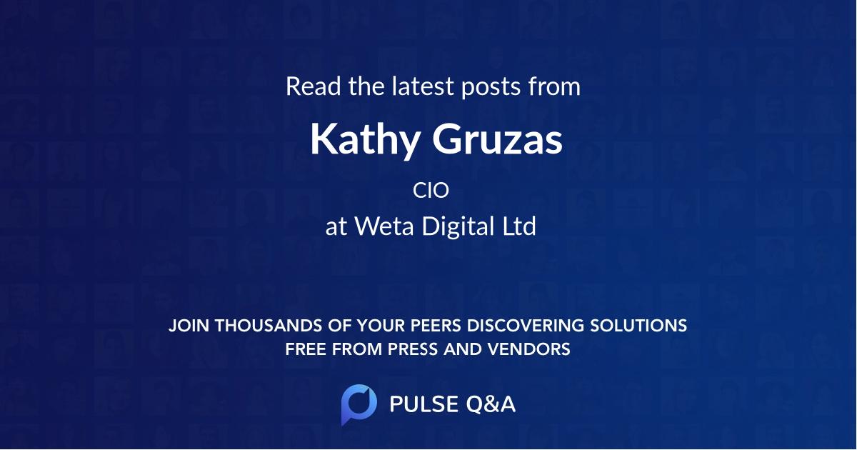 Kathy Gruzas