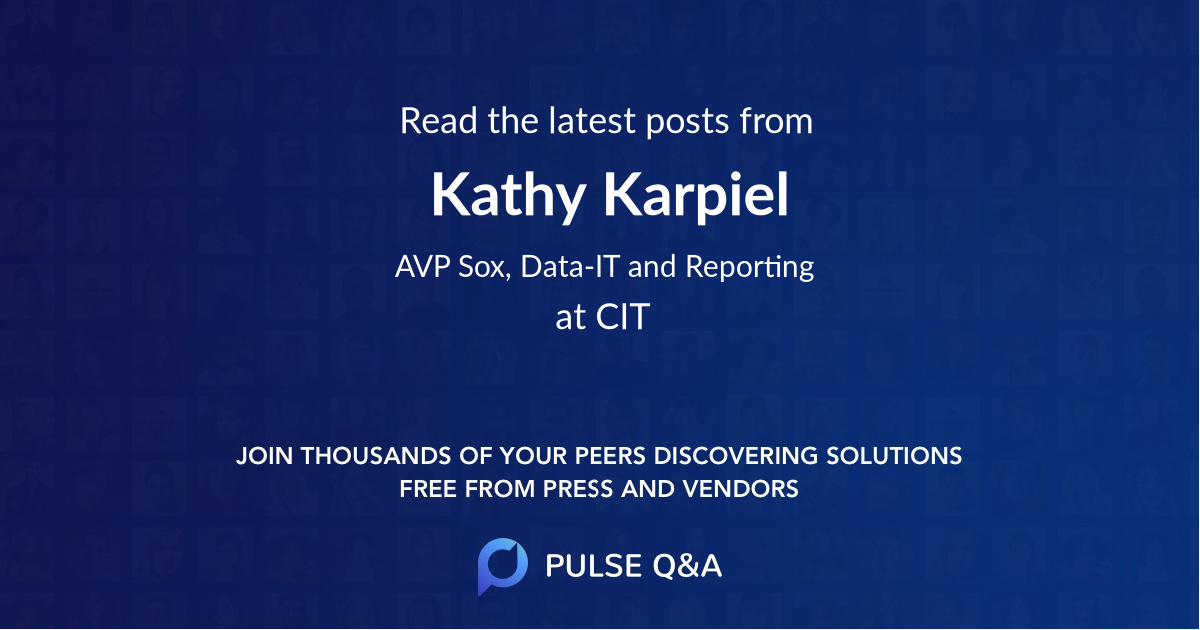 Kathy Karpiel
