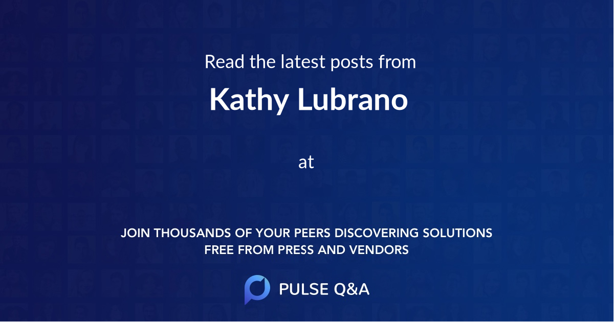 Kathy Lubrano