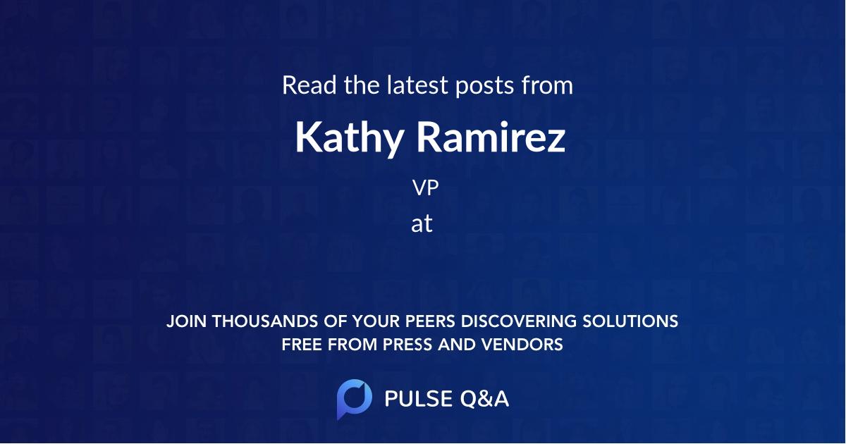 Kathy Ramirez