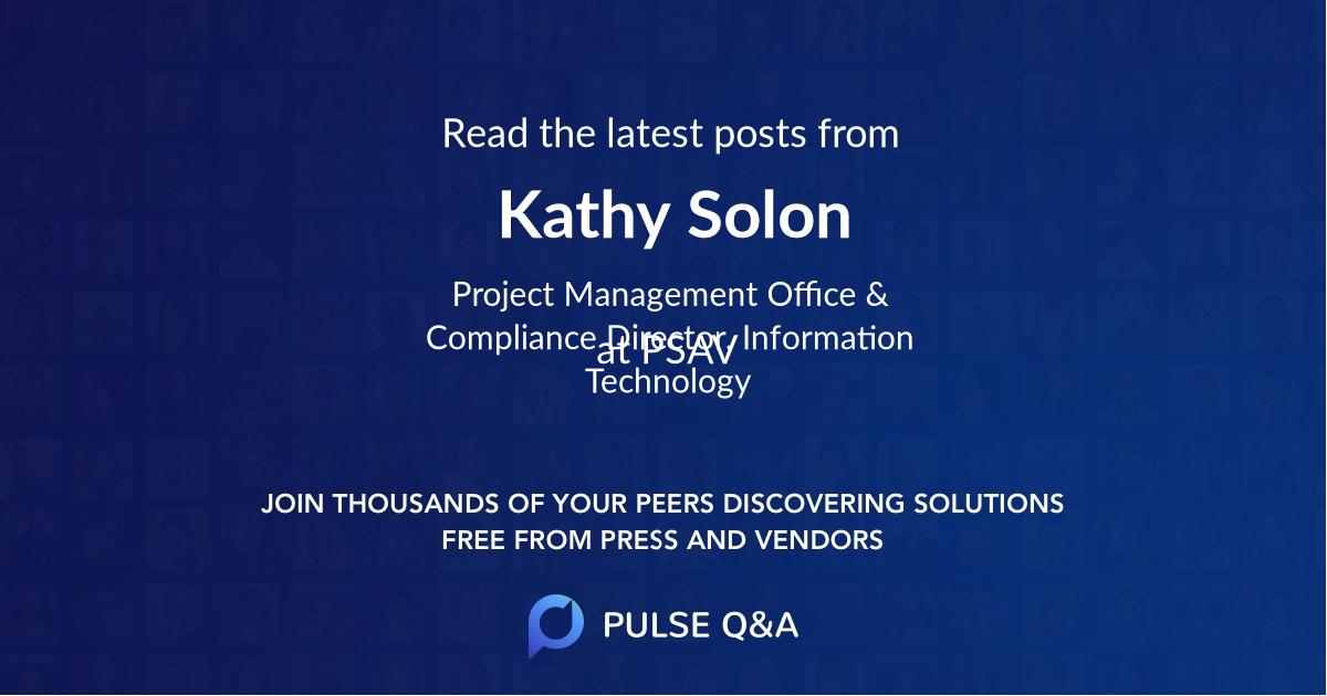 Kathy Solon