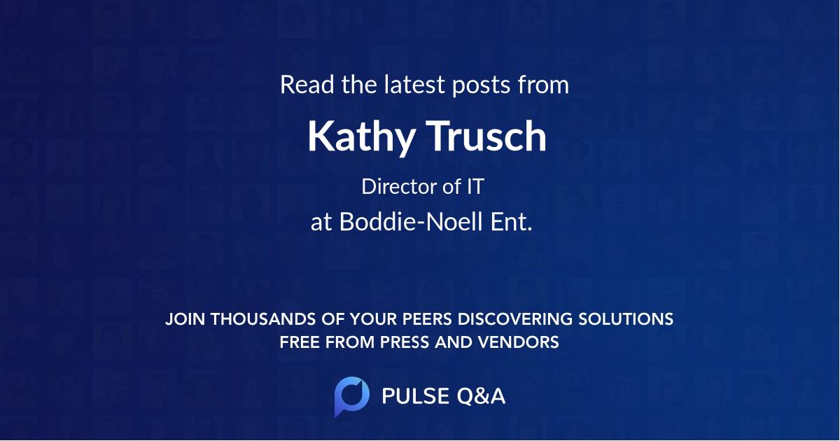 Kathy Trusch