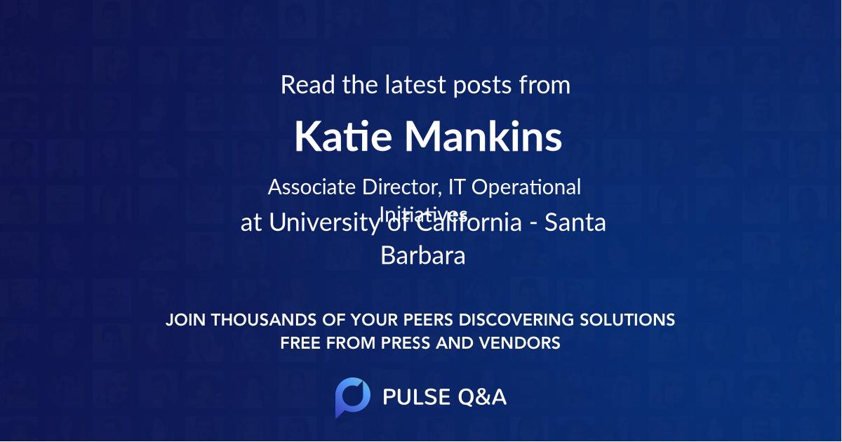 Katie Mankins