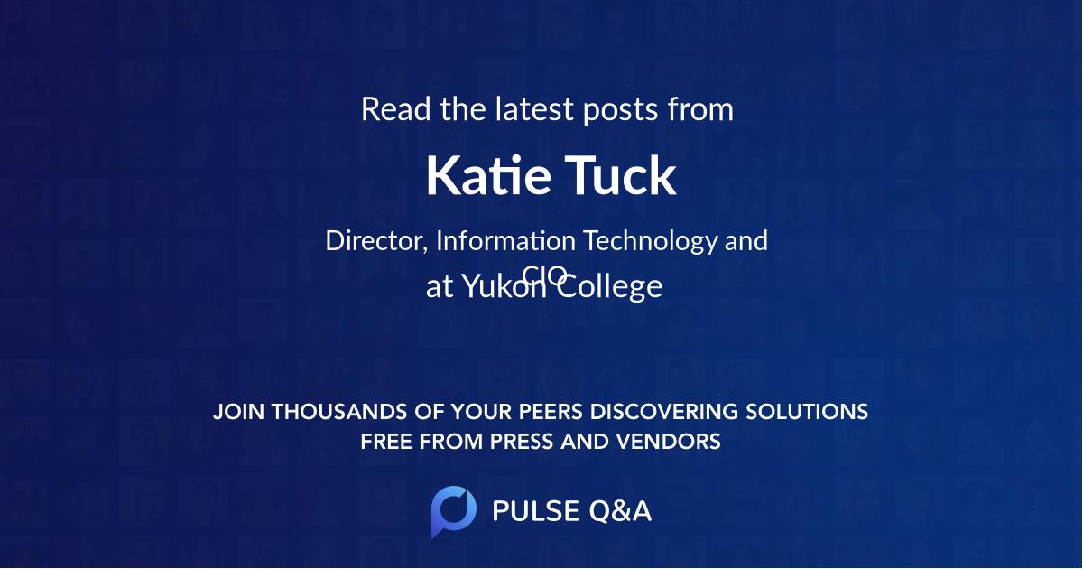 Katie Tuck