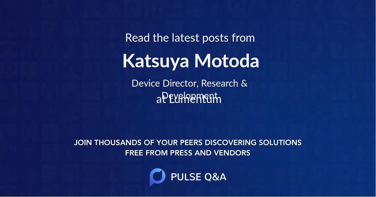 Katsuya Motoda