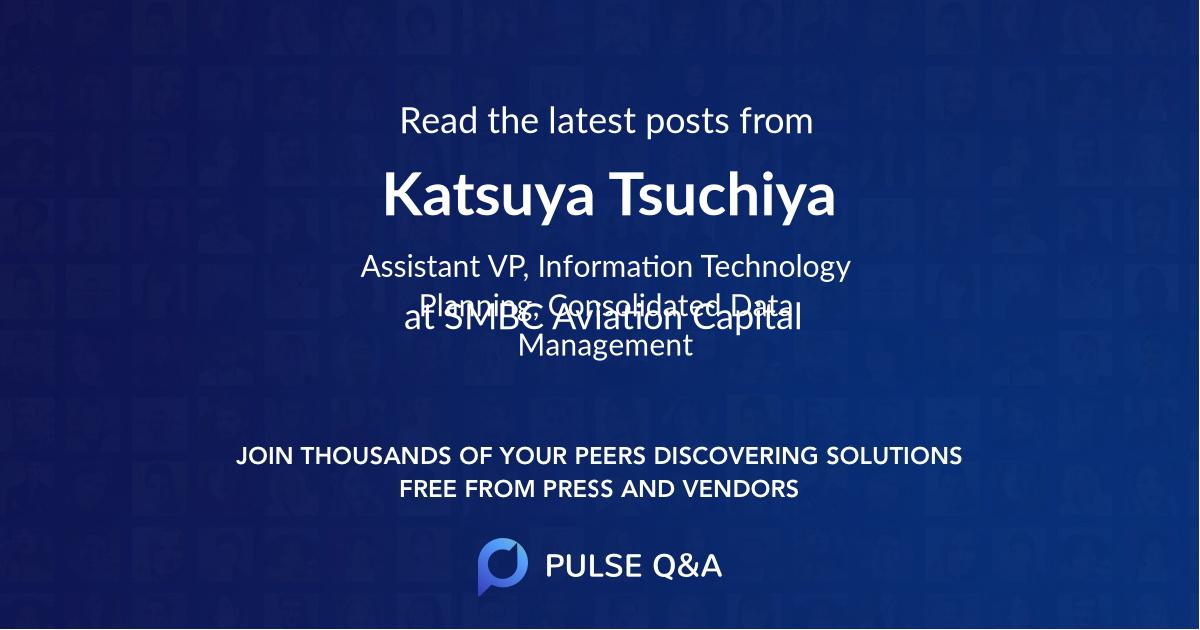 Katsuya Tsuchiya