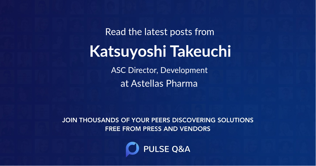 Katsuyoshi Takeuchi