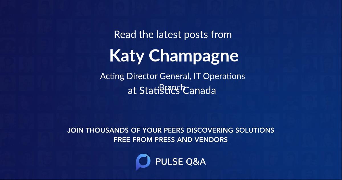 Katy Champagne