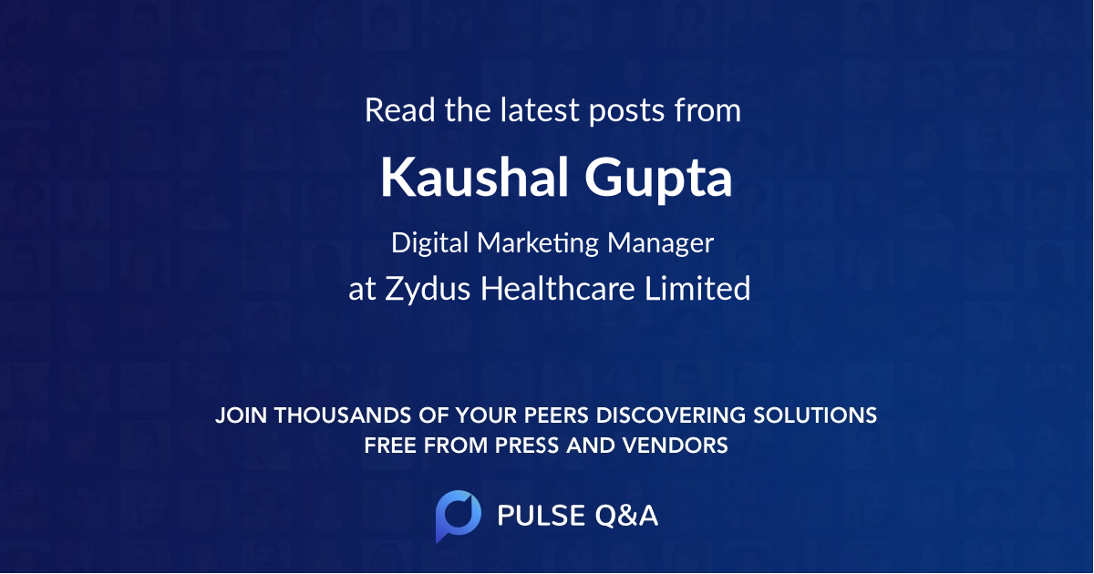 Kaushal Gupta